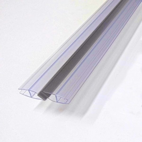 Magnetic door seal 6mm glass 1830mm long shower door parts