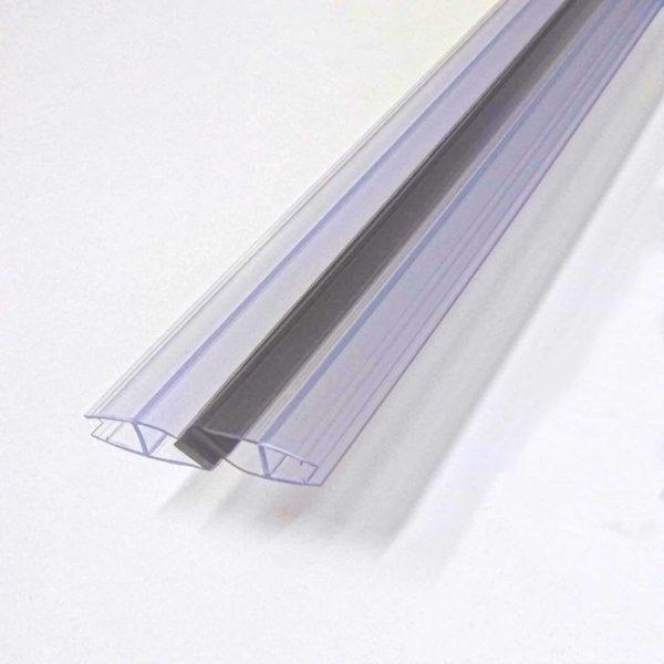 Magnetic door seal 6mm glass 1830mm long shower door parts