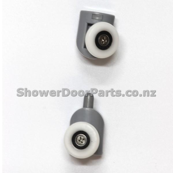 NOB1 & NOT1 - shower door rollers view 2
