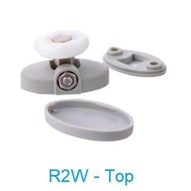 Shower Door Rollers Single Wheel R2G top wheel - shower door parts