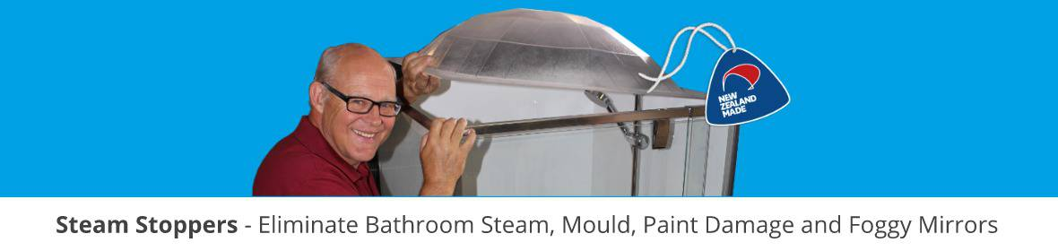 Shower door parts to Steam Stopper