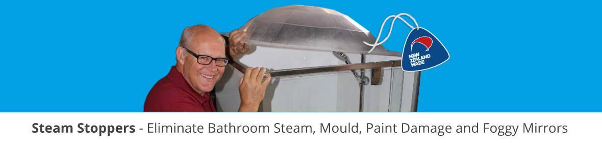 Shower door parts to Steam Stopper