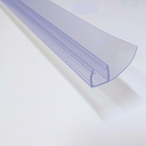 Vertical F seals 8mm glass 2m long shower door parts